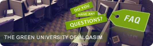 FAQ list in university of qasim